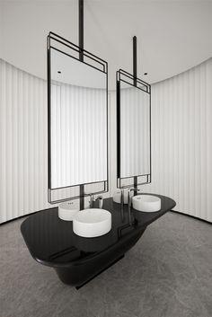 Bathroom Toilets, Washroom, Bathroom Interior, Interior Design Living Room, Wc Design, Bathroom Vanity Designs, Rest Area, Amazing Bathrooms, Powder Room