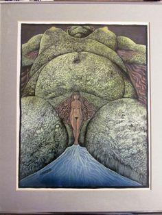 Hans Arnold Work In Sweden, Creepy Horror, Illustration Art, Illustrations, Spirit, Heart, Sweet, Design, Artists