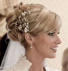 wedding hairstyles with decorative combs - Google Search