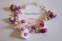 FedeScrap: bijoux  Braccialetti bon-bon rosa
