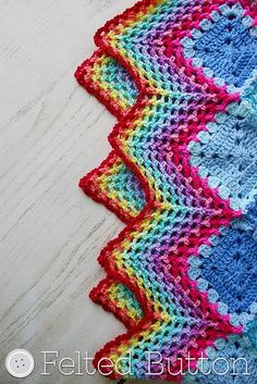 Ravelry: Happy Harlequin Blanket pattern by Susan Carlson