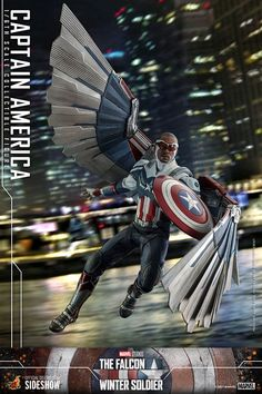 Captain America Figure, Marvel Captain America, Marvel Dc, Marvel Comics, All Hero, Sideshow Collectibles, Bucky Barnes, Cool Toys, Awesome Toys