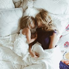 Love moments like this! Waking up with my babies on my sides. Spoiled! Definitely. But this is the moment that will never came back when they grow up.
