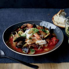 Seafood, Tomato and Fennel Stew Recipe - Colby Garrelts, Megan Garrelts | Food&Wine