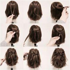 Yöne pratik saç modeli