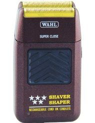 Wahl Professional Bump Free Shaver Model: Professional Features: - Deluxe Rechargeable cord/cordless shaver - Anti-Allergic gold foil takes beard down for a super close bump free shave - - Beard & mustache grooming Mustache Grooming, Men's Grooming, Best Electric Shaver, Barber Supplies, Razor Bumps, Close Shave, After Shave, Beauty Supply, Brush Cleaner