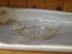 "Wire Crown  Princess and Fairy Crown  ""Felicity"" by WirePrincess, $45.00"