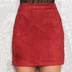 The Luanne skirt is an ultra sexy high waisted mini including patchwork detailing throughout. Pair with a crop top, bomber jacket and thigh high boots for an amazing look. Features Include: - 100% Lux
