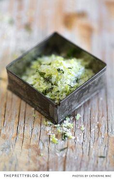 Chilli, lemon & thyme salt   Photographer: Catherine Mac, Recipe, testing, preparation & styling: Luisa Farelo
