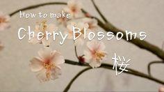 桜の作り方 - How to make cherry blossoms