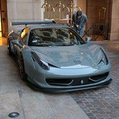 LB walk Ferrari 458