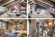 4 chambres grand confort décorée dans un style montagne