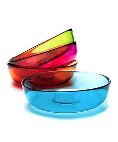 Take a look at this Recycled Glass Bowl Set by Cypress Home on #zulily today!