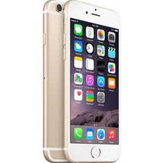 New Apple iPhone 6 Gold (Unlocked) Smartphone Apple Iphone 6s Plus, Iphone 6s Plus 16gb, Iphone 6 Gold, Smartphone Reconditionné, Portable Apple, Cell Phones In School, Bluetooth, Wireless Lan, Shopping