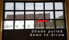 Solar Shades have an