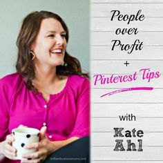 Learn how Mamapreneur Kate Ahl grew her Pinterest management business. Hint - you don't have to be cut-throat to succeed in business!