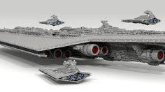 71,000-Piece Super Star Destroyer by Fox Hound