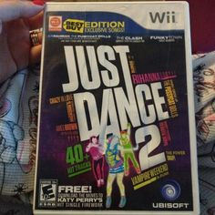 ✌✌ Just Dance 2 For Wii Video Game LIKE NEW ✌✌