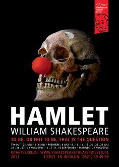 Poster Shakespeare Hamlet
