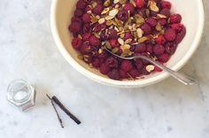 saffron rasberries