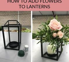 Step by step video guide, how to add flowers to lanterns. Use lanterns for weddi. Step by step video guide, how to add flowers to lanterns. Use lanterns for wedding centrepieces / hang up at your wedding venue. Wedding Venues, Wedding Day, Dream Wedding, Wedding Ceremony, Wedding Reception Tables, Wedding Favours, Wedding Locations, Purple Wedding, Wedding Tips