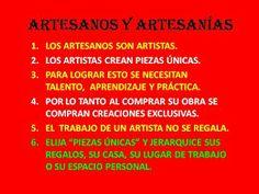 Artesanos y artesanías