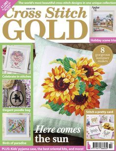 CROSS STITCH GOLD ISSUE №110 2014 http://www.pinterest.com/alizg/