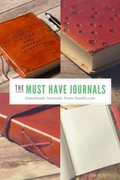 Writing n Things On The Road Again, Handmade Journals, Journal Notebook, Leather Journal, Book Binding, Writing Prompts, Book Worms, Making Ideas, Stationery