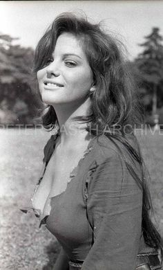 Claudia Cardinale W/wild Bed Hair Super Crazy Sexy 60s Orig Negative Peter Basch | What's it worth