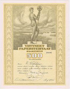 Franky's Scripophily BlogSpot: Exhibition : Helsinki Stock Exchange 100 Years