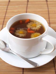 chrysanthemum and wolfberry tea recipe