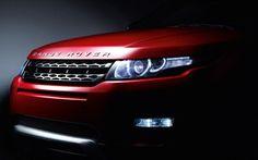 Rover Evoque Headlights HD Wallpaper