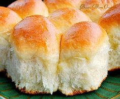 Bunny's Warm Oven: Delicious Classic Dinner Rolls