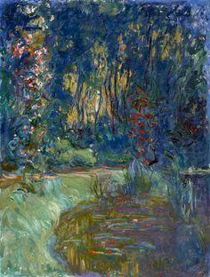 Coin de l'étang à Giverny (1917) by Claude Monet
