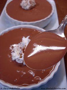 The Dutch Table: Chocoladevla (Dutch Chocolate Custard) and more dutch recipes! Dutch Desserts, Just Desserts, Delicious Desserts, Dessert Recipes, Yummy Food, Traditional Dutch Recipes, Typical Dutch Food, Amish Recipes, Sweet Recipes