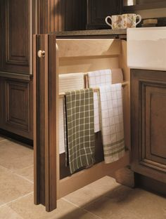 slim base pull out towel cabinet