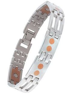 Day 10 -Stainless Copper Link Bracelet - #560 - Was £49.53 Now slashed to £22.29  www.sabona.co.uk/stainless-copper-link-bracelet-560-c2x17996521