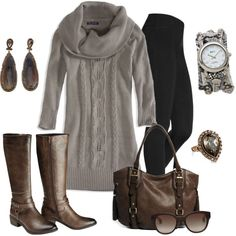 """""""Sweater Dress"""" by smores1165 on Polyvore"""