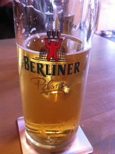 Berliner Beer - One of the best kept secrets in Berlin. When we were there back in 2009-2011 this was going for as little as 0.65 ear per bottle! Truly one of the best local beers I have enjoyed while in Berlin (of course there are many more as well!) This also makes it into our top beers of March!