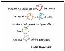 Volunteer Appreciation Gift Tag  SarahsandelCom  ChildrenS