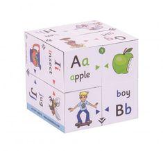 Zoobookoo Kniha v kocke Prvá abeceda Decorative Boxes, Apple, Apple Fruit, Decorative Storage Boxes, Apples