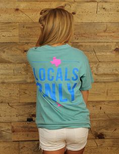 Show some local love in this frocket tee! We love Texas!!