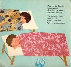 Illustration by Halina Gutsche; Author: Czesław Janczarski; Title: Dzień w przedszkolu