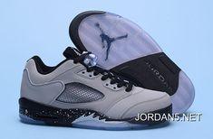 "http://www.jordan5.net/air-jordan-5-low-wolf-grey-wolf-grey-blackblack-authentic.html AIR JORDAN 5 LOW ""WOLF GREY"" WOLF GREY/BLACK-BLACK AUTHENTIC : $79.86"