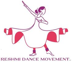 Kathak Indian classical dance Reshmi Dance Movement logo