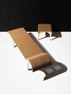 #Milantrace2017 Shigeru Ban Chaise Lounge for Wb form, Milan Design Week 2017 | Yellowtrace