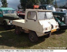 Small Trucks, Mini Trucks, Cool Trucks, Cool Cars, Mini 4x4, Microcar, 4x4 Van, Steyr, Transportation Design