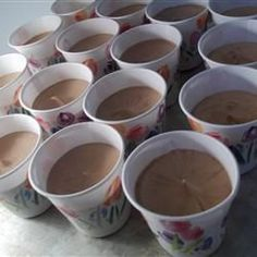 Dangerously Delicious! One package of chocolate pudding mix, half cup of vodka, half a cup of baileys, one cup of milk, whisk together into little cups and refridge for thirty min. top with whip cream! Christmas eve treats? Yes!.
