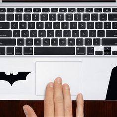 "Batman With Symbol Keyboard M581 Design Decal Sticker Vinyl For Macbook Pro Air Retina 13"" 15"" 17"" Inch Laptop Cover"
