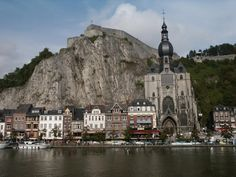 Dinant in Belgium - looks amazing!